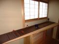 茶室前廊下