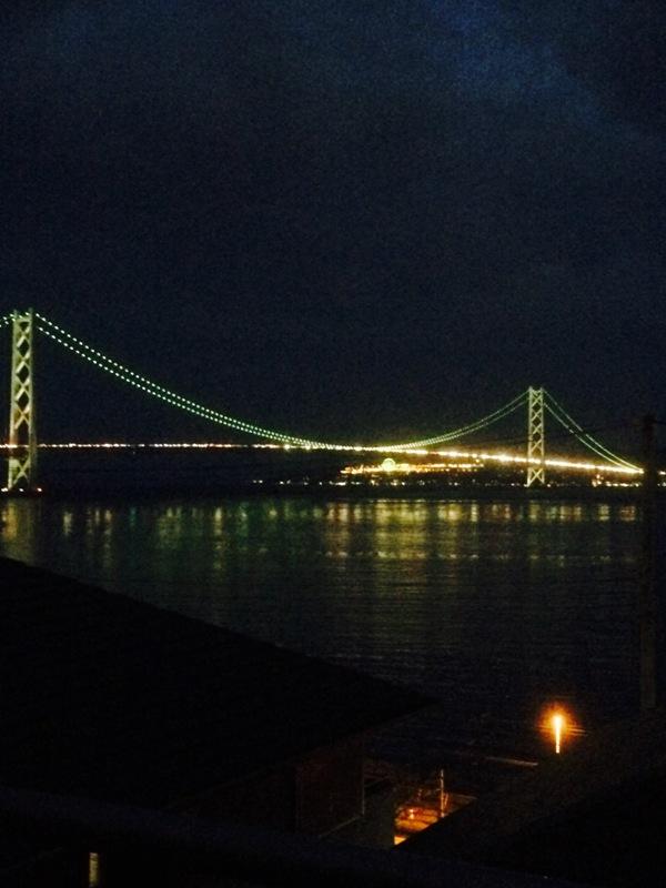 明石海峡大橋の渋滞