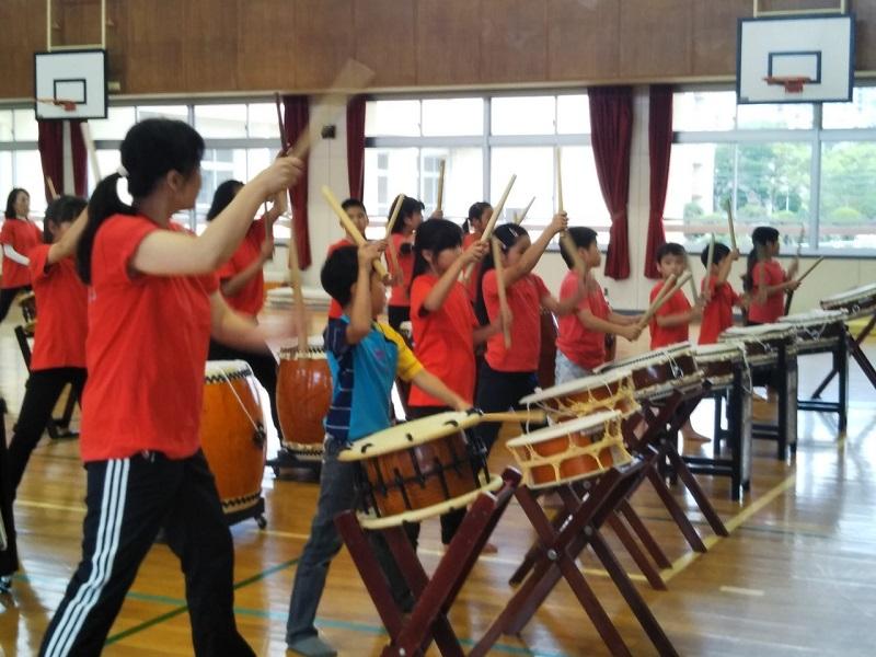 世代を超えて、みんなで楽しく演奏~和太鼓 多聞だんだん~多聞台