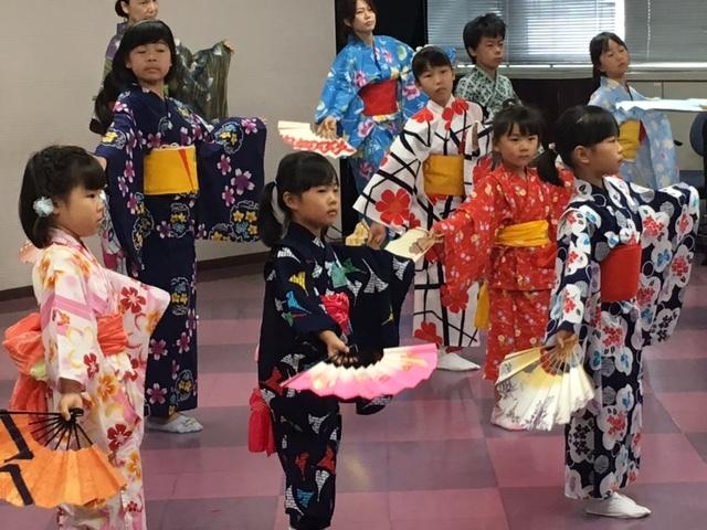 日本舞踊って、とっても楽しいね! こどもの日本舞踊体験教室開催