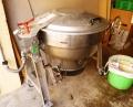 イカナゴのくぎ煮用大鍋