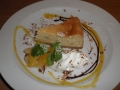 カフェルード バナナチーズケーキ