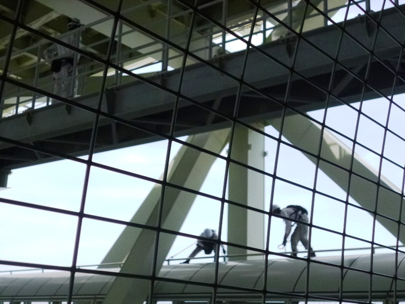 明石海峡大橋メンテナンス