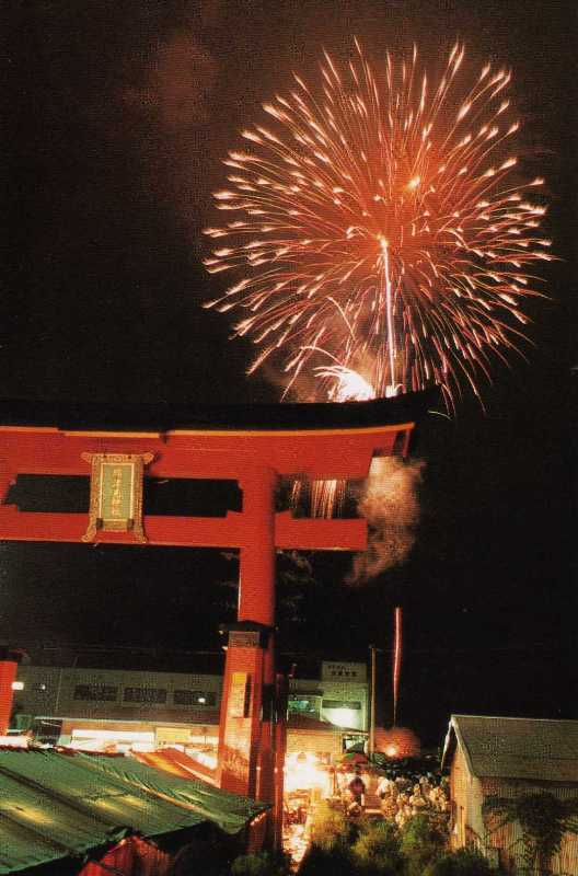 夏祭り(海神社)