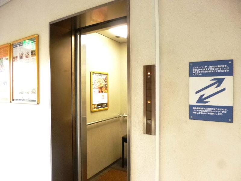 舞子ビラのエレベーター