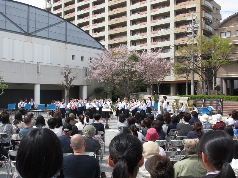 160409 ]星陵台中学校コンサート1