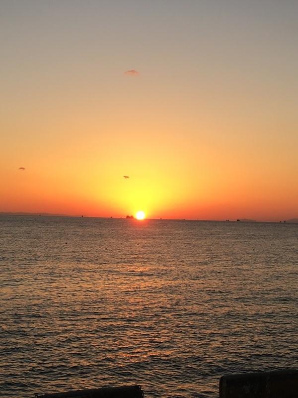 2016年11月夕陽