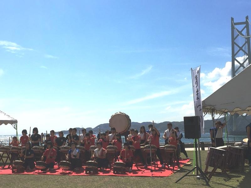 第1回和太鼓の祭典 夢まつりが開催されました